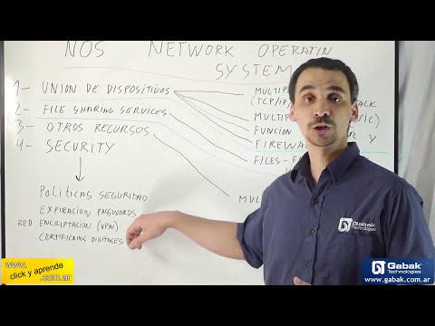 ¿que es NOS? (sistema operativo de redes) / (network operating system)