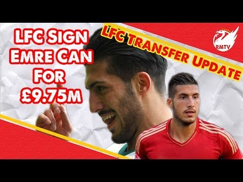 Emre Can Signs For Liverpool! | LFC Transfer Update