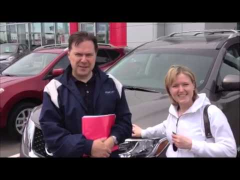 Woodchester Nissan: This Is My 2013 Nissan Pathfinder for Ed and Kamilla