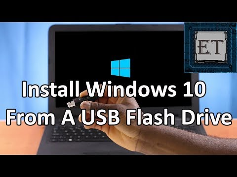 How to Install Windows 10 From a USB Flash Drive | Step by Step + Free Activation (2017)