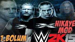 WWE 2K15 Hikaye Modu | hani Kardesdik? | 1.bölüm | Türkçe Oynanış