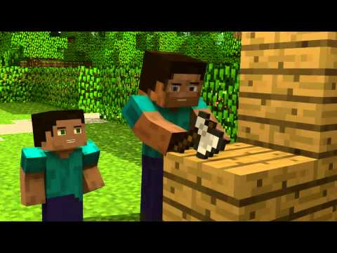 El legado de Herobrine un gran video animacion de minecraft.