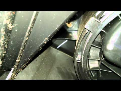Blower motor replacement GMC Sierra 2003 - 2009 Chevrolet Install Remove Replace How to