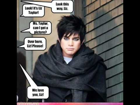 Adam Lambert - LOL Pictures !!