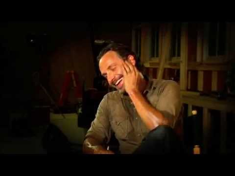 Andrew Lincoln making fun of the Governor