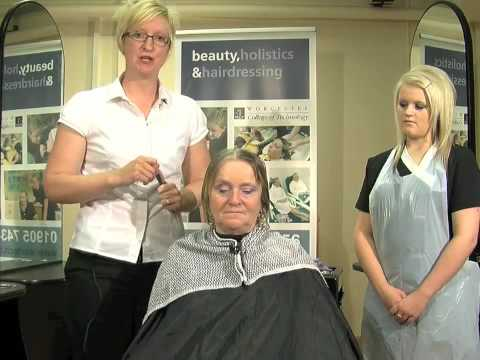 Fashion Perm Part 1 from http://hairdressing.ac.uk