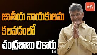 Chandrababu Naidu National Politics | Sonia Gandhi Meeting | Akilesh Yadav | Mayawati