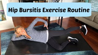 Hip Bursitis Exercise Routine. Best Exercises For Hip Bursitis.