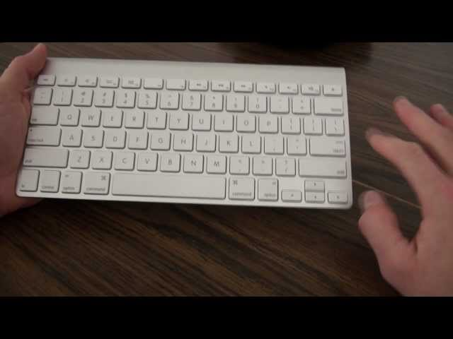 Apple Wireless Keyboard Review & Setup