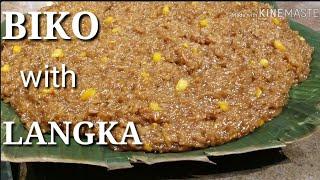 COOKING 101 : MASARAP NA BIKO with LANGKA / FILIPINO DELICACY / FILIPINO DESSERT / MUST TRY...