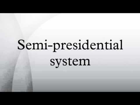 legislative accountability in a semi presidential system A presidential system if a presidential legislative initiative fails to pass a legislature though semi-presidential systems may reduce a president's power.