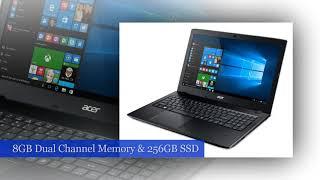 "Acer Aspire E 15 Laptop, 15.6"" Full HD, 8th Gen Intel Core i5-8250U, GeForce MX150"