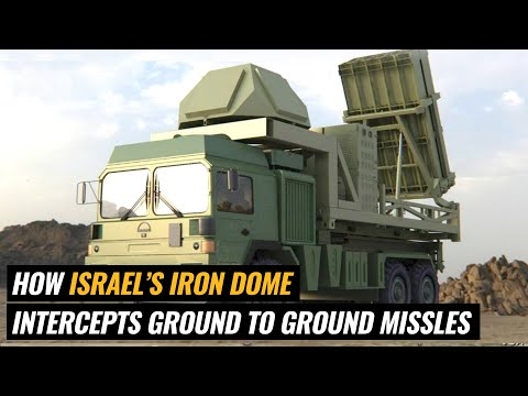Iron Dome - How ISRAEL intercepts air-to-ground rockets from GAZA STRIP