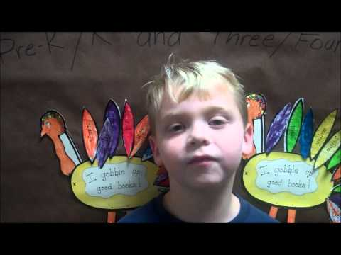 The Mountain School at Winhall gives thanks - 11/19/2013