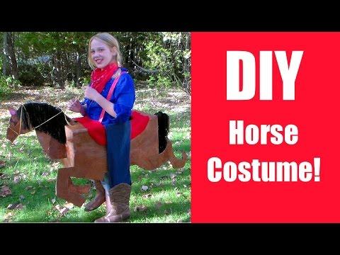 Tiger Horse Costume Diy Horse Costume {free