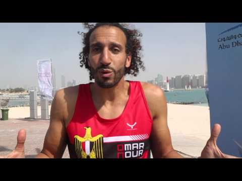 Omar Nour Cycling tips for Abu Dhabi Triathlon