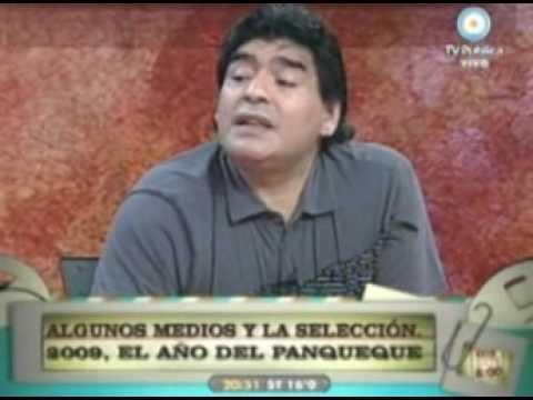 Maradona acusó a Bilardo de haber participado de una campaña para voltear a Grondona5