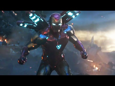 Avengers 4 Iron Man Thanos Buster Armor and Hawkeye First Look free Breakdown