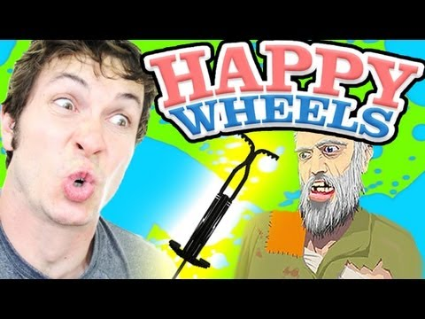Happy Wheels - OLD MAN POGO