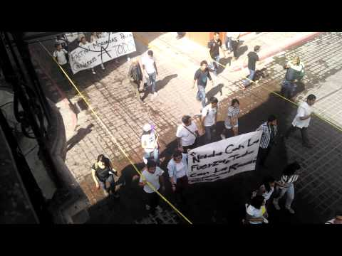 Manifestación por estudiante muerto de CULagos