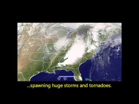 Severe storms and tornadoes erupt in U.S.