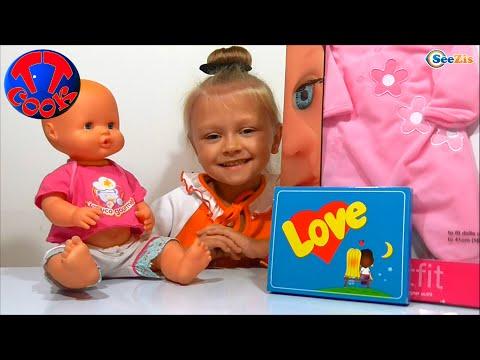 ✔ Кукла Ненуко и девочка Ярослава открывают подарки для малыша. Nenuco Doll and Yaroslava - Gifts ✔