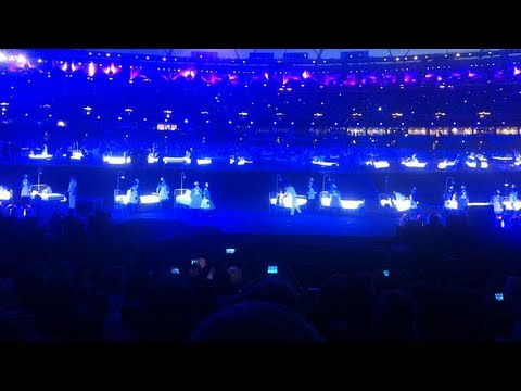 London 2012 Opening Ceremony - First Public Technical Rehearsal - National Health Service