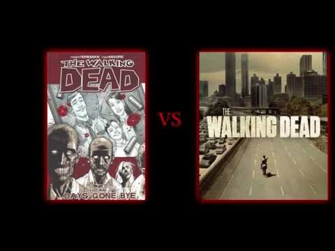 The Walking Dead TV Show vs The Walking Dead Comic Book