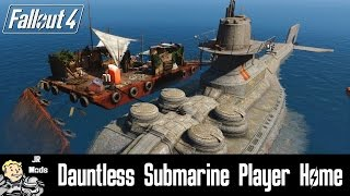 Fallout 4 Mod Showcase: Dauntless Submarine Player Home
