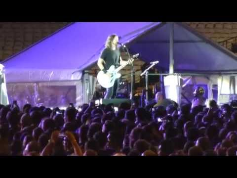 Foo Fighters Sydney 26/02/2015 Times Like These/ Detroit Rock City