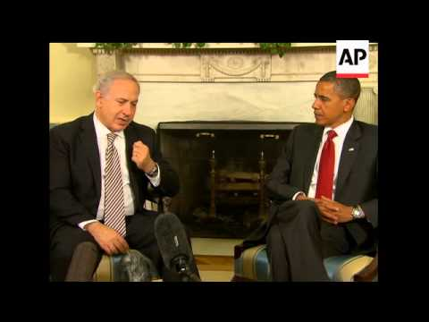 President Barack Obama and Israeli Prime Minister Benjamin Netanyahu sought to warm rocky relations,
