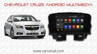 Chevrolet Cruze Android Multimedya Sistemi Uygulaması