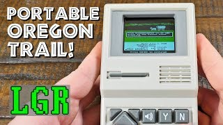 LGR - The Oregon Trail Electronic Handheld Game!