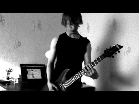 Trivium - Watch the World Burn (guitar cover)