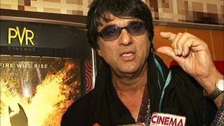 Krishna Aur Kans - Mukesh Khanna at the screening of KRISHNA AUR KANS.