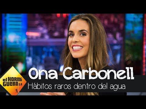 Ona Carbonell confiesa sus hábitos más raros dentro del agua - El Hormiguero 3.0