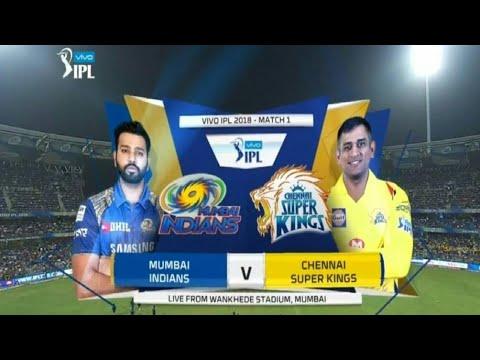 Ipl2018 1st match csk vs mi full highlights by Cricket gaming's highlights