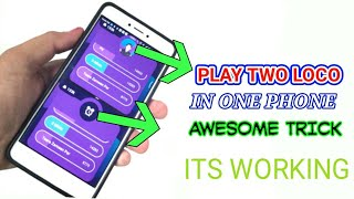 LOCO HACK.PLAY TWO LOCO LIVE TRIVIA GAME IN ONE PHONE . STEP BY STEP EXPLAIN IN HINDI