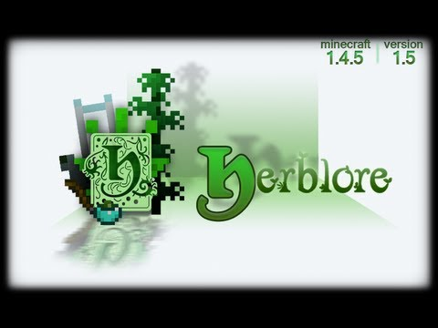Minecraft Mod Reviews   HERBLORE Mod Review / Showcase