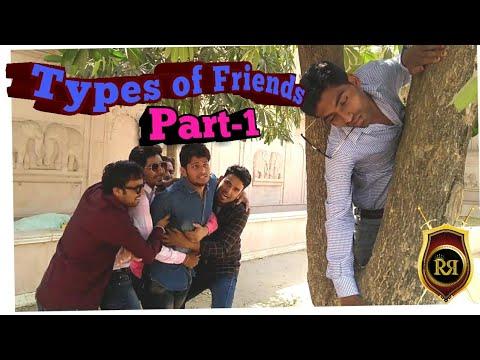 Types Of Friends  Part 1  ROYAL RAJWADA ENTERTAINMENT  ROUND2HELL  AMIT BHADANA