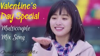 Zara Zara | Korean Chinese Mix | Multicouple Romantic Song | Valentine's Dya Special
