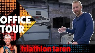 Triathlon Taren Pain Cave Office Tour