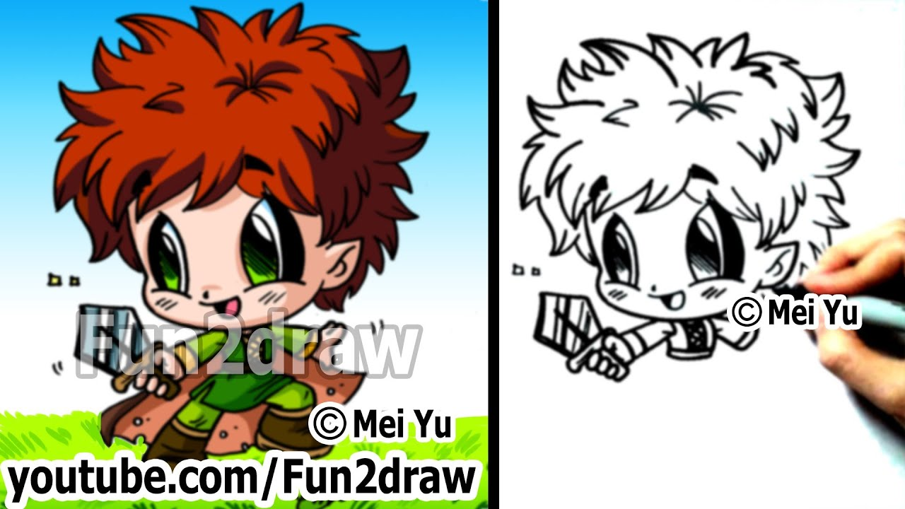 Cute Hobbit Drawings Chibi Drawing Hobbit How to