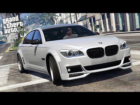 GTA 5 Mods : BMW LUMMA CLR 750