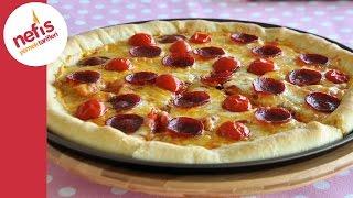Dolgu Kenarl Pizza Tarifi