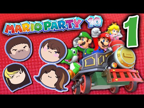 Mario Party 10: Figure It Out! - PART 1 - Grumpcade