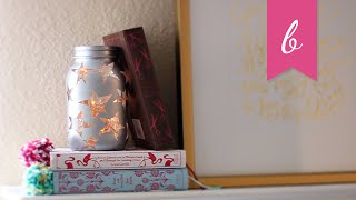 DIY | Starry Light Bookend