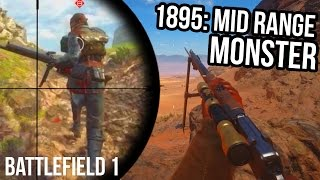 BATTLEFIELD 1 RUSSIAN 1895 STREAKS | BF1 Scout Sniper Gameplay