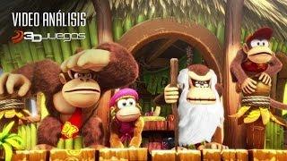 Donkey Kong Country Tropical Freeze - Vídeo Análisis 3DJuegos