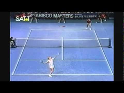 A must see match point Boris Becker against Ivan Lendl ! Best ever?